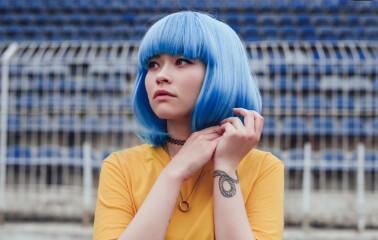 Buz Mavisi Saç Rengi