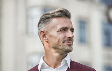 Erkeklere Özel The Oxford Saç Modeli